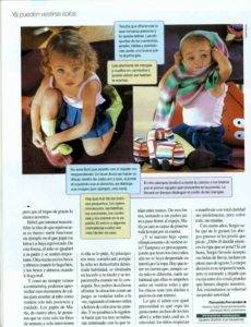 """Revista Ser Padres """"Ya pueden vestirse solos"""""""